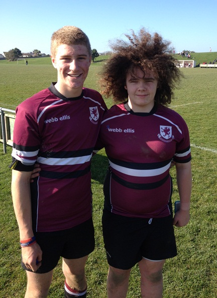 Two of Chilton's Students who have been selected to play for Somerset County